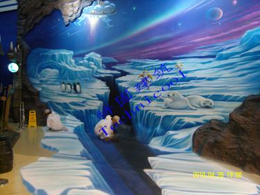 北京动物园海洋馆选用西卡聚氨脂装饰型地坪材料